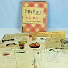 Better Homes And Gardens Test Kitchen Vtg 1946 Better Homes Gardens Cookbook Binder Handwritten Recipes