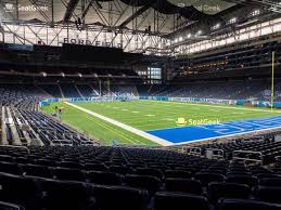 Ford Field Lions Seating Chart Detroit Lions Seating Chart Map Seatgeek
