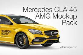 Popular Vehicle Mockups On Yellow Images Creative Store