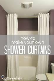 diy shower curtain ideas. the blue eyed dove how to make your own shower curtains with regard curtain idea 0 diy ideas