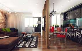 Studio Apartment With Pop Art Interior Home Design And