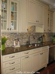 Backsplash Love This Could Still Keep Cabinets Just Add Furniture Beauteous Kitchen Cabinet Backsplash