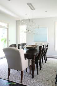 dining room progress paint color behr silver drop light fixture visual fort darlana linear pendant other sources included in post life on