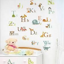 huge alphabet abc tree wall stickers