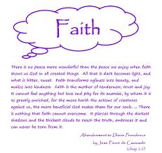 hilltop farm lenten thoughts the meaning of faith lenten thoughts the meaning of faith