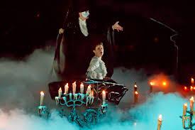 hugh panaro and trista moldovan in the phantom of the opera credit sara krulwich the new york times