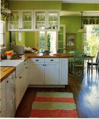 kitchens with white cabinets and green walls. Kitchen With White Cabinets And Green Walls Kitchens E