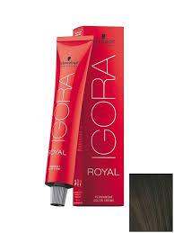 Краситель для <b>волос Igora</b> Royal 3-0 Темный коричневый ...