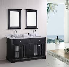 traditional black bathroom. HOW TO DESIGN A LUXURY BATHROOM WITH BLACK CABINETS | Whether You\u0027re Going For Contemporary Or Traditional, Black Is Very Versatile Traditional Bathroom O