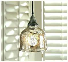 mercury glass pendant light also new lights pottery barn schonbek