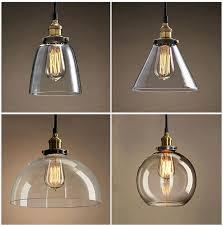 glass pendant lamp shades light australia mercury uk lights teardrop