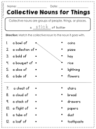 Easy Noun Worksheets First Grade | Homeshealth.info