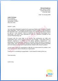 Sweet Inspiration New Graduate Nurse Cover Letter 11 Grad Example