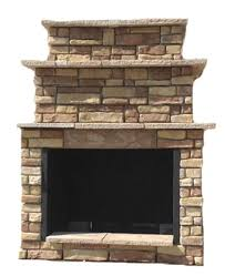 outdoor propane fireplace kits 72 in random brown grand outdoor fireplace kit rbgfpl the home depot