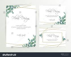 Save The Date Cards Templates Banner On Flower Background Wedding Invitation Stock Vector Royalty