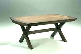 reclaimed wood trestle table reclaimed wood trestle table rustic dining small room salvaged salvaged wood weathered