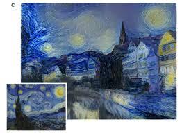 paint like van gogh deep learning algorithm