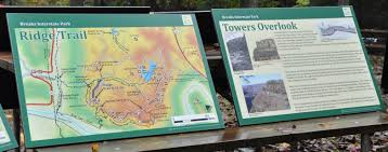 New Interpretive Signs Trailhead Signs Unveiled At Breaks