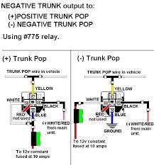 installation diagrams 5 Wire Door Lock Diagram chrysler 5 wire trunk pop 5 wire door lock relay diagram