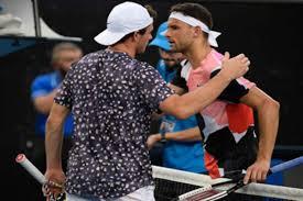 Grigor dimitrov v ugo humbert. Australian Open 2020 Unheralded Tommy Paul Rises To The Occasion As Grigor Dimitrov S Inconsistency Returns To Haunt Him Sports News Firstpost