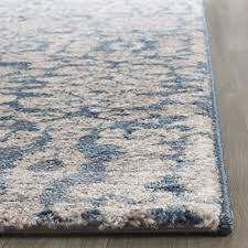 safavieh sofia collection sof386c vintage blue and beige distressed runner 2 2 x