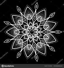 шаблон круглые тату векторное изображение Tamsamtam 162134454