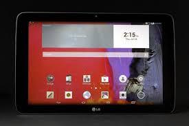 lg tablet. lg g pad 10 1 front apps v2 tablet