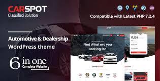 Carspot V2 1 9 Automotive Car Dealer Wordpress Classified
