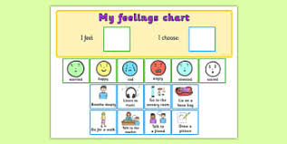 Visual Feelings Chart Sen Feeling Charts And Aids Resources