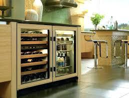glass door refrigerator residential freezer