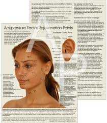 Acupressure Face Chart