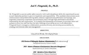 Heres Police Commissioner Nominee Joel Fitzgeralds Pre