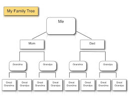 Family Tree Example Template Pin By Techchef4u On Ipad Lessons Family Tree Template