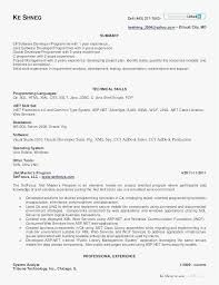 13 Super Resume Format For 1 Year Experienced Software Developer