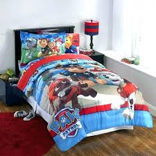 paw patrol full size bedding paw patrol bed set large size of beds patrol 4 piece