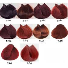 Loreal Red Hair Colour Chart Loreal Majirouge Permanent Hair Color 1 7 Oz In 2019 Red