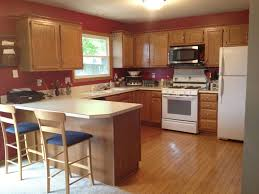 Kitchen Paint Colors With Light Oak Cabinets Inspirations Also Color