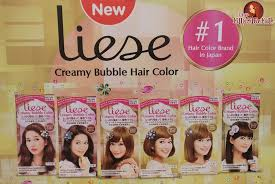 liese creamy bubble hair color now in watsons