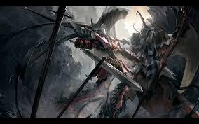 epic battle knight image wallpaper