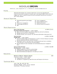 Resume Format With Example Resume Samples Marvelous Resume Format Examples Free Career Resume 2