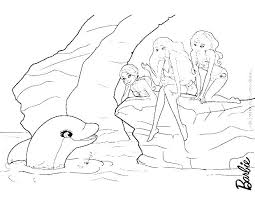 Barbie Coloring Page Picture Mermaid Colouring Pictures Mebelmag