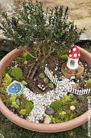 how to make a bonsai tree fairy garden