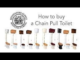 Pull Chain Toilet Impressive Pull Chain Toilet High Tank Toilet Renovator's Supply