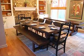 Dining Room Inexpensive Dining Room Table With Bench And Chairs - Rustic chairs for dining room