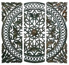 large wall medallions outdoor large metal wall medallions