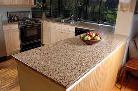 Laurent Brown Marble Kitchen Countertop Design FInished Installed ...