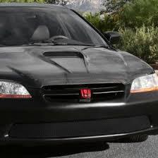 honda accord 2000 custom.  Accord Grillcraft  1Pc MX Series Black Fine Mesh Bumper Grille In Honda Accord 2000 Custom N
