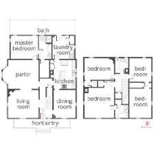 four square house renovation floor plans