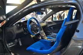 mclaren p1 interior. blue alcantara mclaren p1 interior