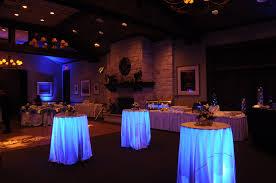 Under Table Lighting Under Table Uplighting Portland Wedding Lights